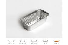 Форма для выпечки прямоугольная 181,7х76 h61 мм, 100 шт.