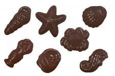 """Форма для шоколадных украшений """"Морские зверюшки"""""""
