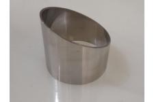 Кольцо для десерта круглое, выс.20-40 мм, диам 40мм, нерж сталь