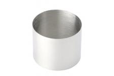 Кольцо для десерта круглое, выс.50 мм, диам 60мм, нерж сталь