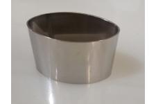Кольцо для десерта овальное , выс.40 мм, нерж сталь