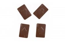 """Форма для шоколадных украшений """"Карты"""" (16 выемок)"""