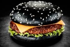 Булочка для гамбургера с кунжутом (82 г)
