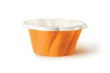 """Стаканчик для мороженого и десертов """"Коппа Джой"""" 210мл, оранжевый, 50шт/уп."""