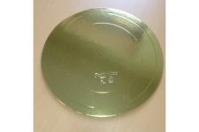 Подложка для торта усиленная, D50 см (толщина 3,2мм), золото/жемчуг, из фольгированного картона