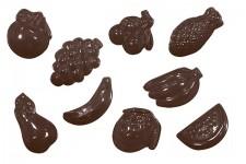 """Форма для шоколадных украшений """"Фруктовое ассорти"""""""