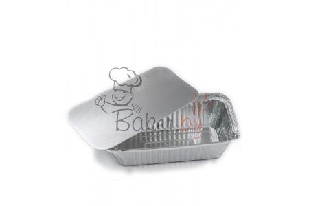 Крышка к форме для выпечки 162x70 h49 мм, 100 шт. (фольгированный картон)